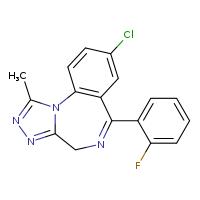 Flualprazolam (CRM) [25577-1MG] - 28910-91-0