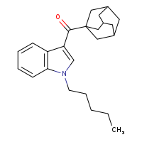 JWH 018 adamantyl analog [9000799-1MG] - 1345973-49-0
