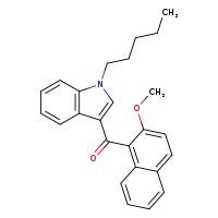 JWH 081 2-methoxynaphthyl isomer [9001044-1MG] - 824960-76-1