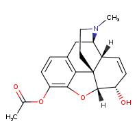 3-Acetylmorphine [9001954-5MG] - 5140-28-3
