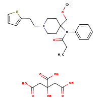 Sufentanil (citrate) [9003093-1MG] - 60561-17-3