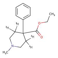 Novachem Meperidine-D4 (Pethidine-d4) M-038-1ML 53484-73-4
