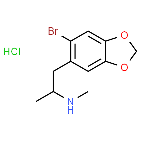 6-bromo-MDMA (hydrochloride) [9001943-1MG]