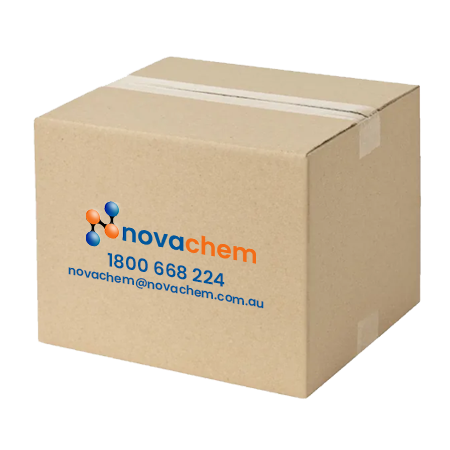 Novachem Cap, tube, 5mm, white, pk/1000 NE-310-5-W/M